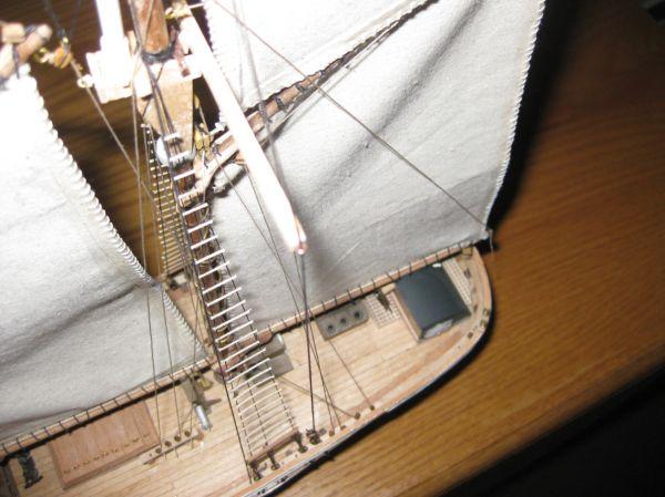 Three-Mast Topsail Schooner - Sheet of Separate Details of