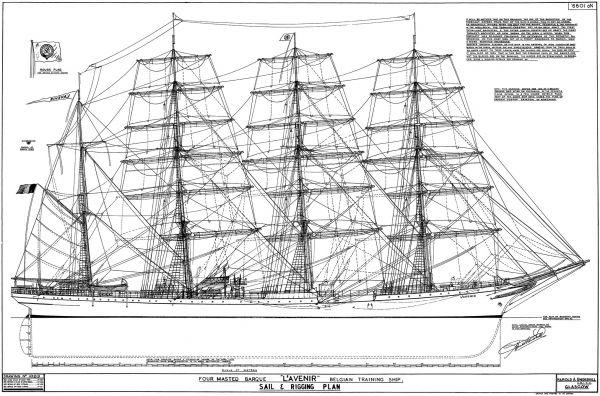 Belgian Training Ship