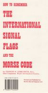 How to Remember the International Signal Flags and Morse Code Card