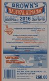 Browns Nautical Almanac 2016